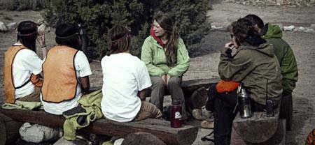 Wilderness work staff